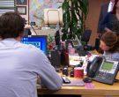 HP Monitor and Cisco Phone Used by John Krasinski (Jim Halpe...
