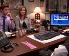 HP Monitor and Cisco Phone Used by Rainn Wilson (Dwight Schr...