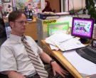 HP Monitor and Microsoft Keyboard Used by Rainn Wilson (Dwig...