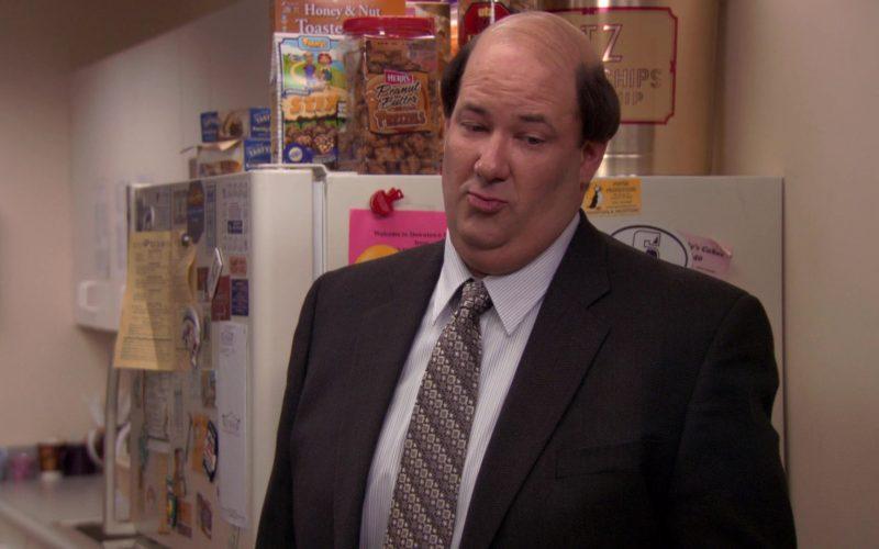 Herr's Peanut Butter Pretzels in The Office