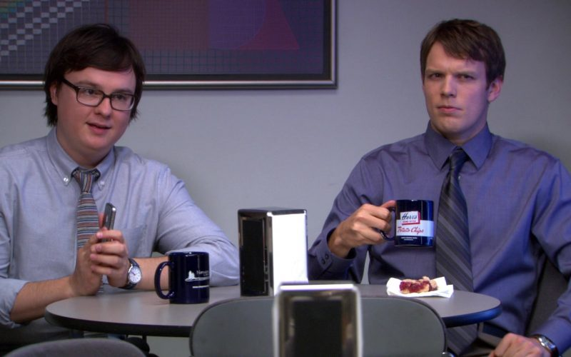 Herr's Potato Chips Mug Used by Jake Lacy (Pete Miller) in The Office (2)