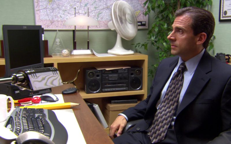 IBM Computer Monitor Used by Steve Carell (Michael Scott) in The Office (2)