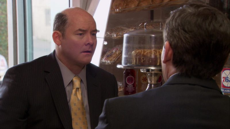 """IZZE Sparkling Juices in The Office – Season 7, Episode 18, """"Todd Packer"""" (2011) - TV Show Product Placement"""