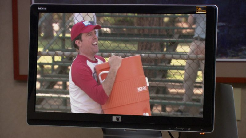 "Igloo Cooler Held by Ed Helms (Andy Bernard) in The Office – Season 9, Episode 4, ""Work Bus"" (2012) - TV Show Product Placement"