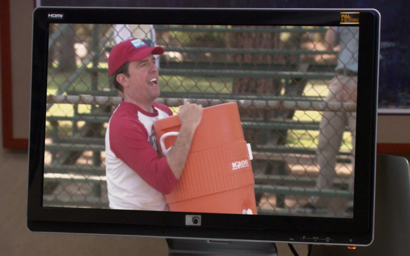 Igloo Cooler Held by Ed Helms (Andy Bernard) in The Office