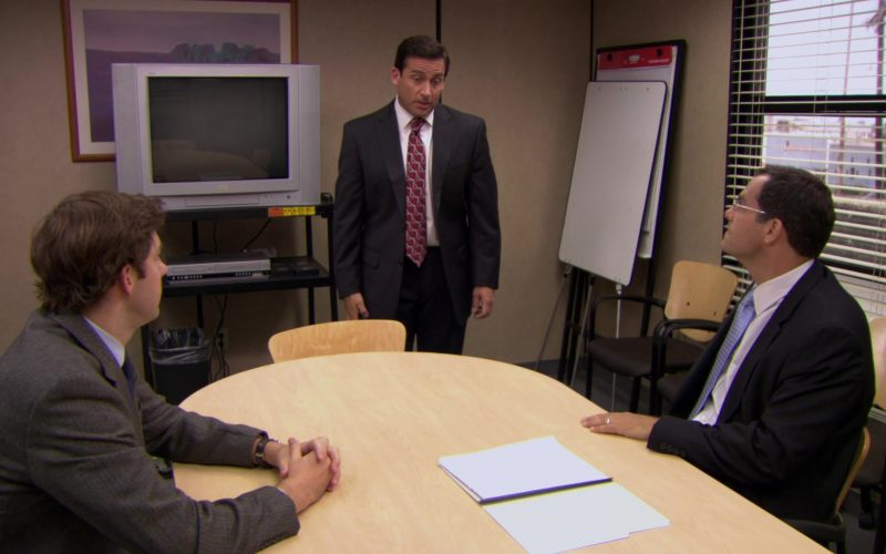 JVC TV in The Office – Season 6, Episode 2, The Meeting (2009)
