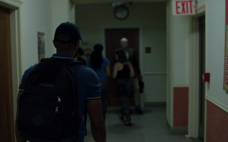 JanSport Backpack Used by Eka Darville in Jessica Jones