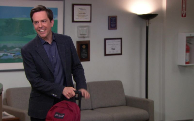 Jansport Backpack Used by Ed Helms (Andy Bernard) in The Office