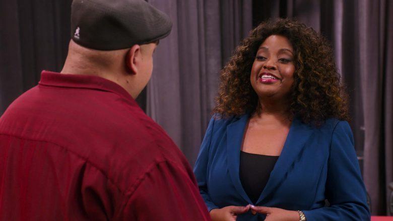 "Kangol Black Flat Cap Worn by Gabriel Iglesias in Mr. Iglesias - Season 1, Episode 10, ""Academic Decathlon"" (2019) TV Show"