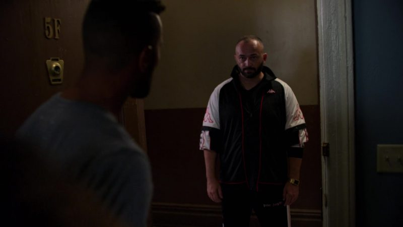 "Kappa Men's Jacket in Jessica Jones - Season 3, Episode 5, ""A.K.A I Wish"" (2019) TV Show Product Placement"