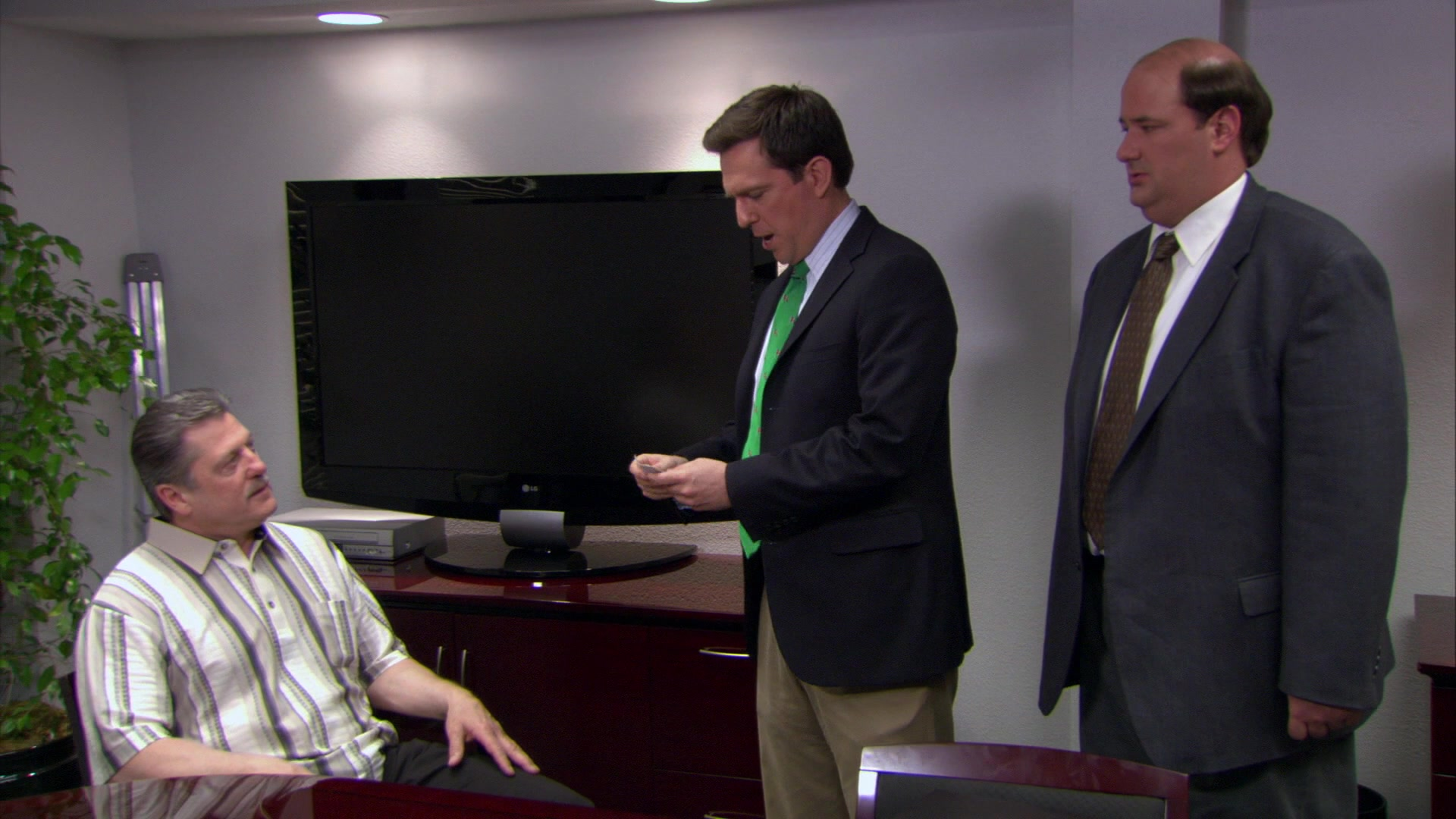 LG Flat TV in The Office – Season 4, Episode 14,