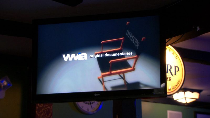 """LG TV and WVIA in The Office – Season 9, Episodes 22-23, """"A.A.R.M."""" (2013) - TV Show Product Placement"""