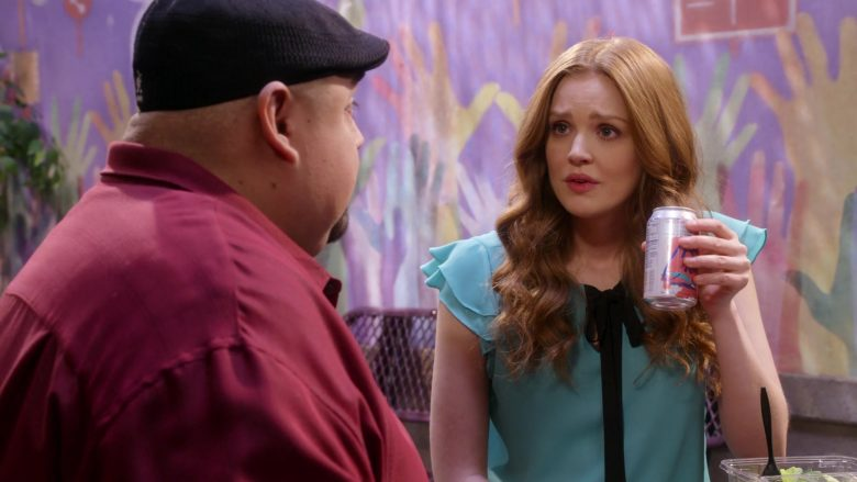 "LaCroix Sparkling Water Enjoyed by Maggie Geha in Mr. Iglesias - Season 1, Episode 9, ""Oh Boy, Danny"" (2019) - TV Show Product Placement"