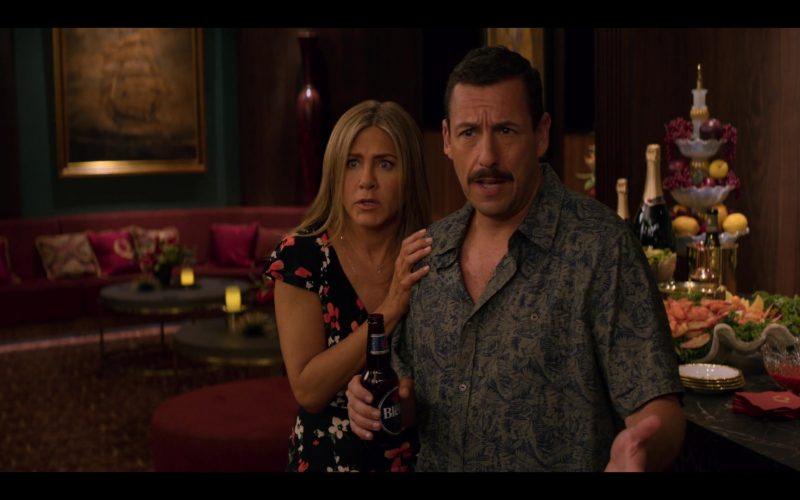 Labatt Bleue Beer Enjoyed by Adam Sandler in Murder Mystery (1)