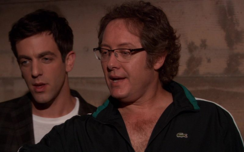 Lacoste Jacket Worn by James Spader (Robert California) in The Office (10)