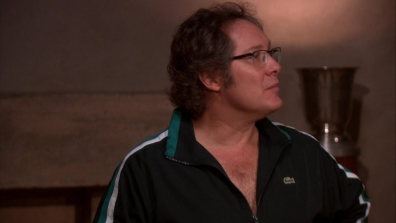 "Lacoste Jacket Worn by James Spader (Robert California) in The Office – Season 8, Episode 12, ""Pool Party"" (2012) - TV Show Product Placement"