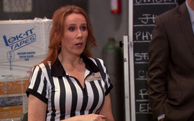 Lok-It Tapes in The Office – Season 9, Episode 20,