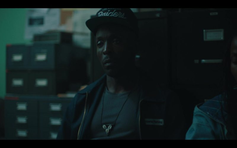 Los Angeles Raiders (Oakland Raiders) Cap Worn by Michael K. Williams in When They See Us