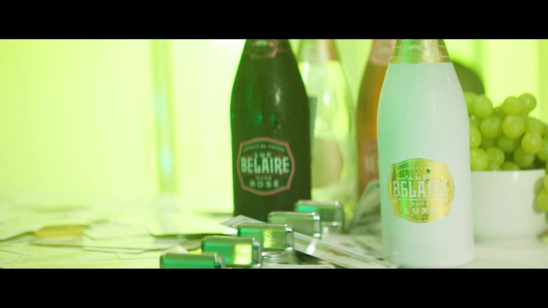 Luc Belaire Champagne Bottles in Backwards by Gucci Mane feat. Meek Mill (2019) Official Music Video Product Placement