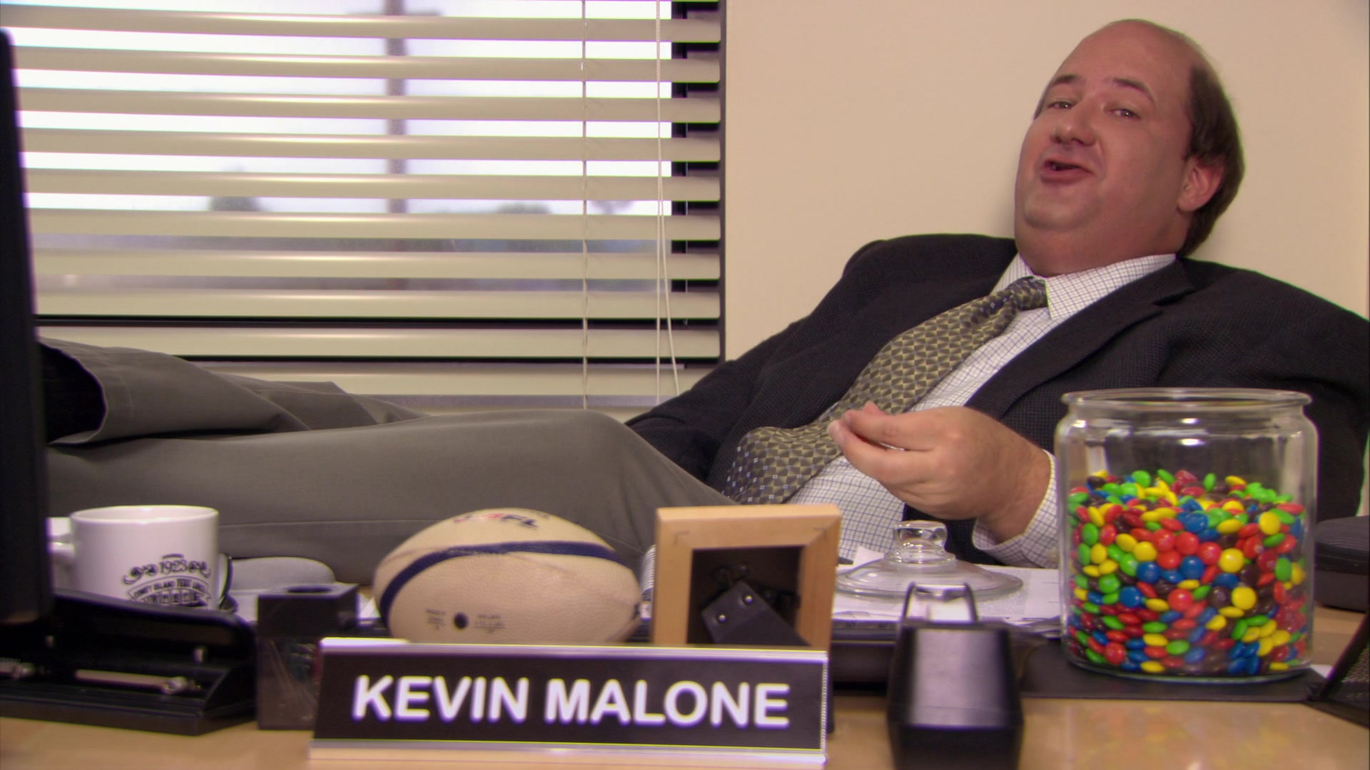 M&M's Candies Enjoyed by Brian Baumgartner (Kevin Malone) in The ...