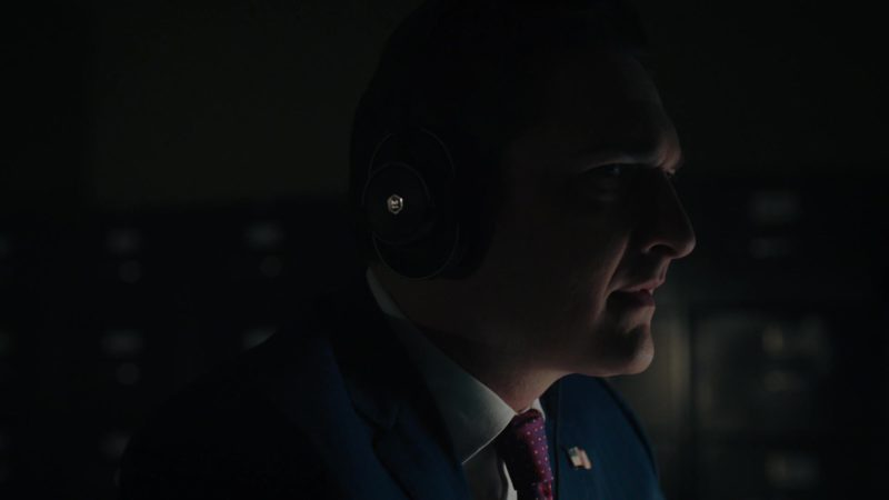 Master & Dynamic Headphones Used by Toby Leonard Moore (Bryan Connerty) in Billions - Season 4, Episode 12, Extreme Sandbox (2019) - TV Show Product Placement
