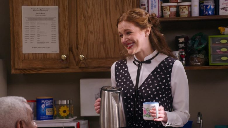 "Maxwell House Coffee in Mr. Iglesias - Season 1, Episode 8, ""Teachers' Strike"" (2019) - TV Show Product Placement"
