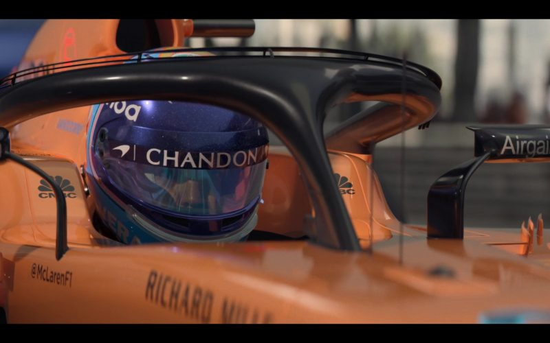 McLaren F1 Formula One, Chandon, CNBC, Airgain in Murder Mystery (1)