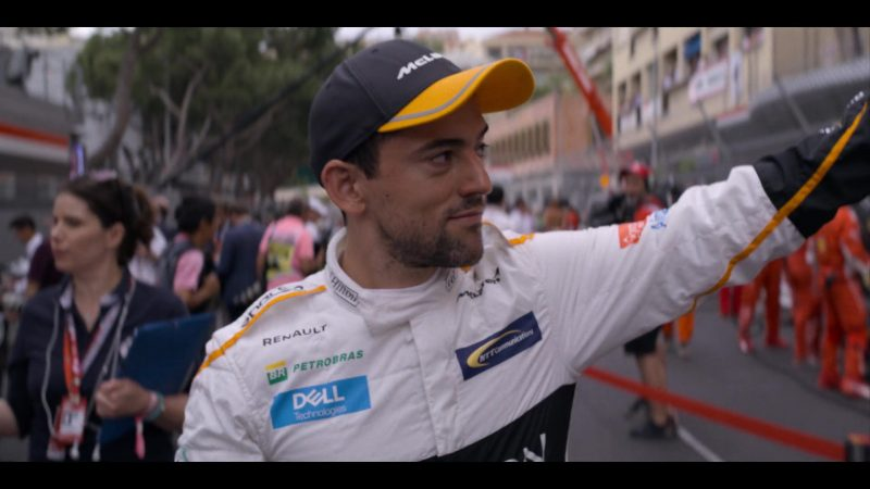 McLaren Formula One, Renault, Petrobras, Dell, NTT Communications in Murder Mystery (2019) Movie