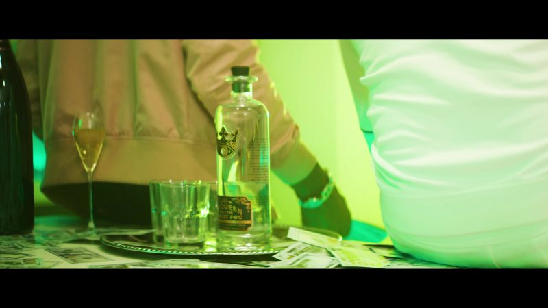 McQueen and the Violet Fog Gin in Backwards by Gucci Mane feat. Meek Mill (2019) Official Music Video Product Placement