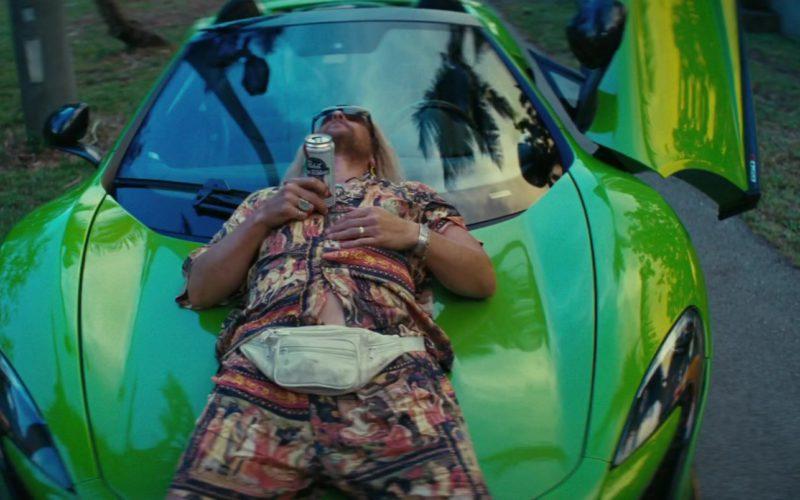Mclaren Green Sports Car Used by Matthew McConaughey in The Beach Bum (2)