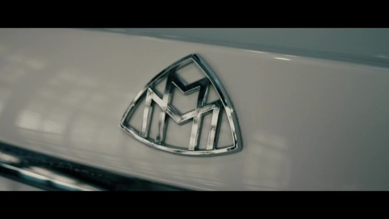 """Mercedes-Maybach White Luxury Car in """"Racks Today"""" by Rich The Kid (2019) Official Music Video Product Placement"""