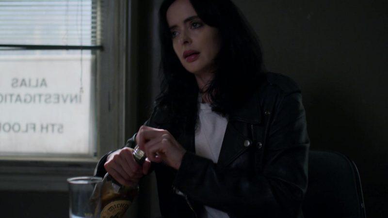 """Michter's Bourbon Enjoyed by Krysten Ritter in Jessica Jones - Season 3, Episode 1, """"A.K.A The Perfect Burger"""" (2019) TV Show"""