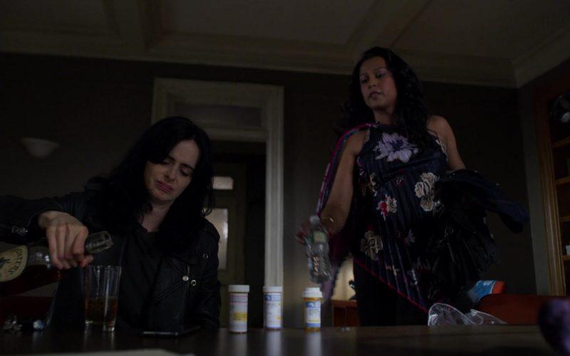 Michter's Bourbon Enjoyed by Krysten Ritter in Jessica Jones – Season 3, Episode 3 (1)