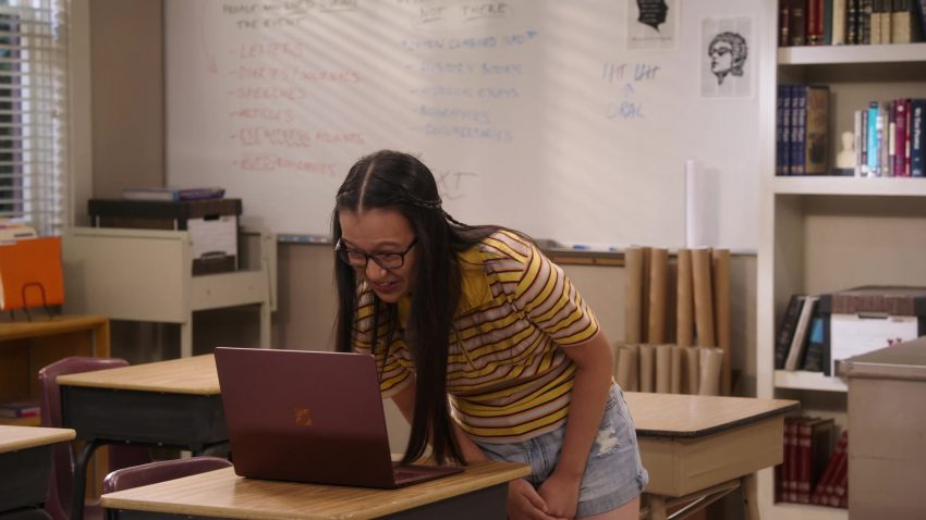 "Microsoft Surface Laptop Used by Gloria Aung in Mr. Iglesias - Season 1, Episode 2, ""Summer School"" (2019) - TV Show Product Placement"