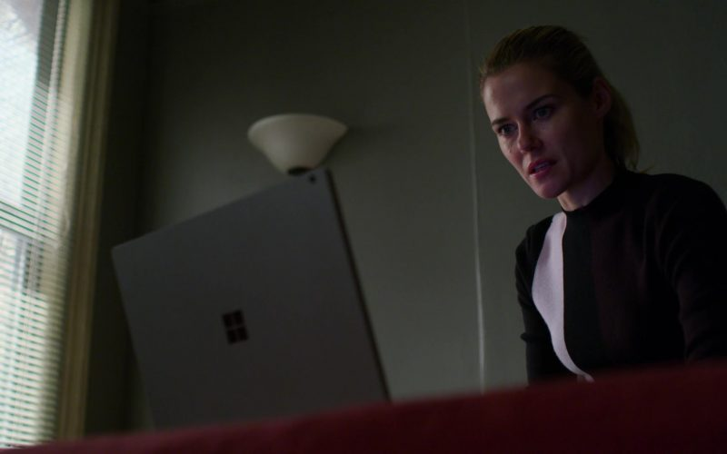 Microsoft Surface Laptop Used by Rachael Taylor in Jessica Jones (2)