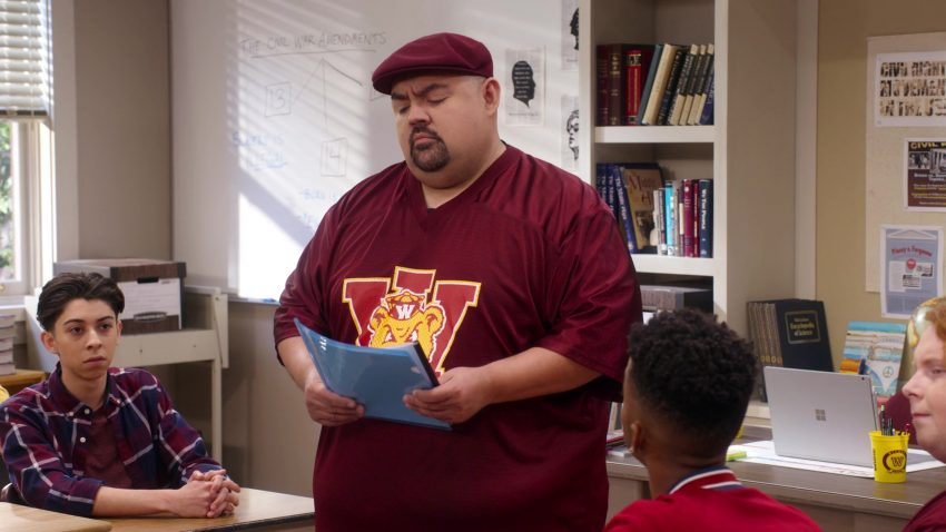 """Microsoft Surface Notebook Used by Gabriel 'Fluffy' Iglesias in Mr. Iglesias - Season 1, Episode 5, """"Everybody Hates Gabe"""" (2019) - TV Show Product Placement"""
