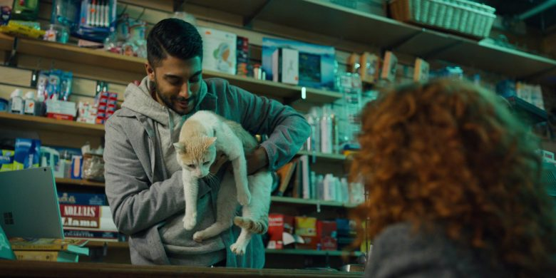 "Microsoft Surface Notebook Used by Ritesh Rajan in Russian Doll - Season 1, Episode 8, ""Ariadne"" (2019) TV Show Product Placement"