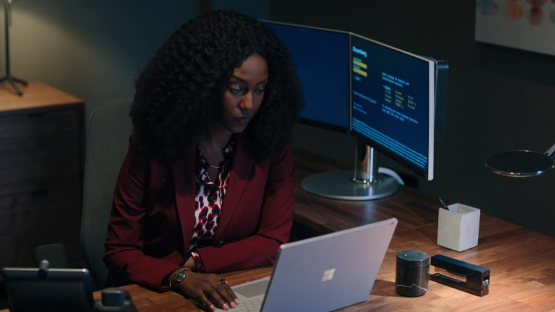 """Microsoft Surface Notebook in Billions - Season 4, Episode 11, """"Lamster"""" (2019) - TV Show Product Placement"""