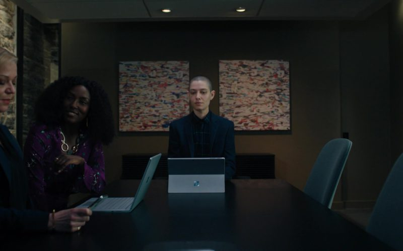 Microsoft Surface Tablet Used by Asia Kate Dillon (Taylor Mason) in Billions (1)