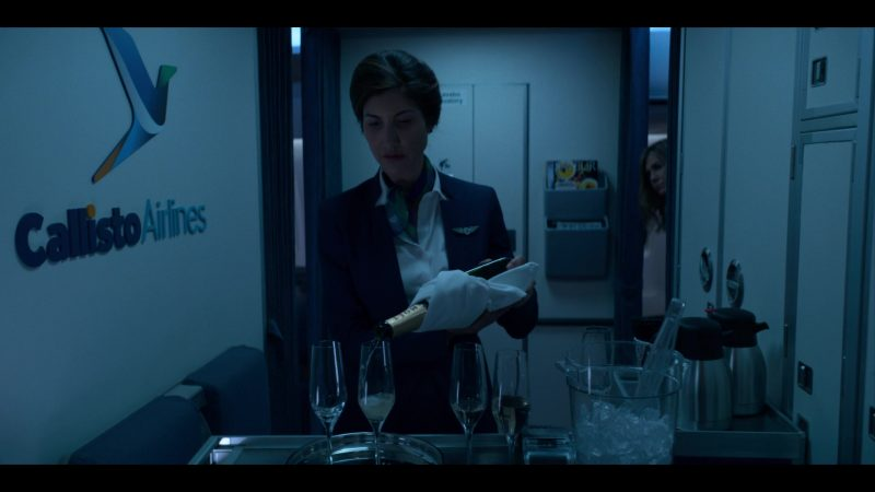 Moet Champagne in Murder Mystery (2019) - Movie Product Placement