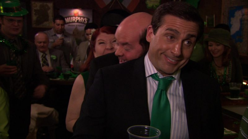 """Murphy's Irish Stout Poster in The Office – Season 6, Episode 19, """"St. Patrick's Day"""" (2010) - TV Show Product Placement"""