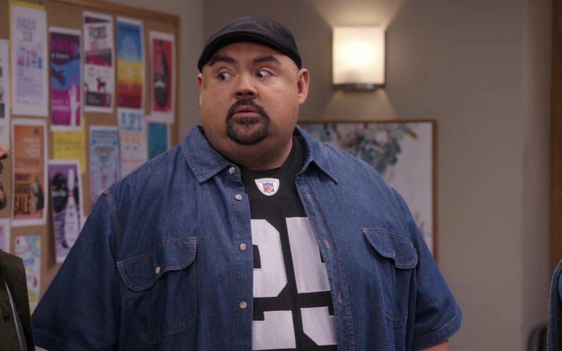 NFL T-Shirt Worn by Gabriel 'Fluffy' Iglesias in Mr. Iglesias (3)