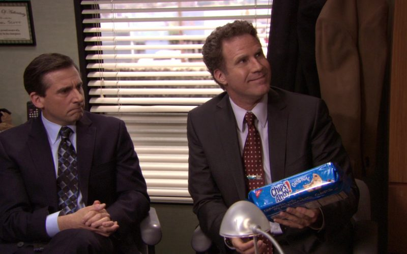 Nabisco Chips Ahoy! Held by Will Ferrell (Deangelo Vickers) in The Office (2)