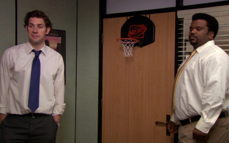 Nerf Basketball Hoop by Hasbro in The Office