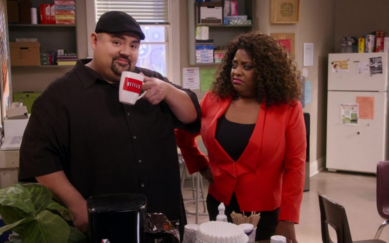 Netflix Mug Held by Gabriel Iglesias in Mr. Iglesias (1)