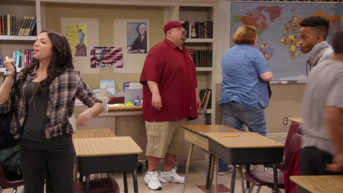 """New Balance Sneakers Worn by Gabriel 'Fluffy' Iglesias in Mr. Iglesias - Season 1, Episode 1, """"Some Children Left Behind"""" (2019) - TV Show Product Placement"""