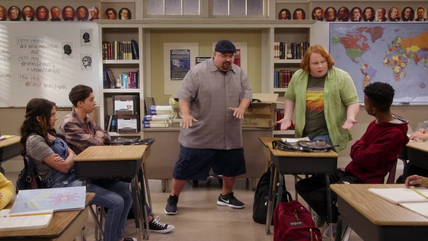 """Nike Sneakers Worn by Gabriel 'Fluffy' Iglesias in Mr. Iglesias - Season 1, Episode 3, """"Full Hearts, Clear Backpacks"""" (2019) - TV Show Product Placement"""