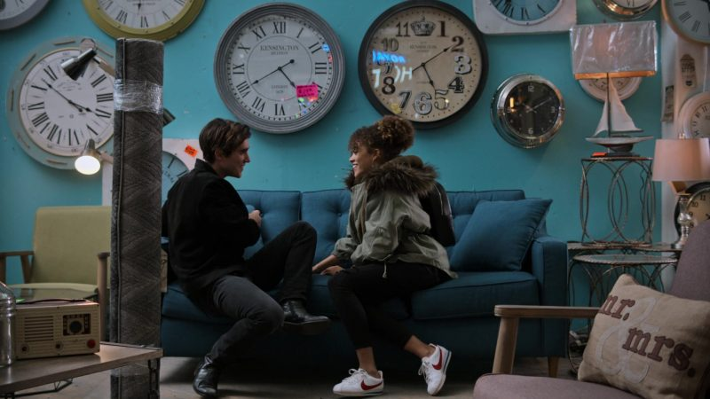 """Nike Women's White Sneakers Worn by Quintessa Swindell in Trinkets - Season 1, Episode 8, """"Monday I'm in Love"""" (2019) - TV Show Product Placement"""