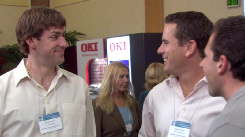 """OKI Printing Solutions in The Office – Season 3, Episode 2, """"The Convention"""" (2006) - TV Show Product Placement"""