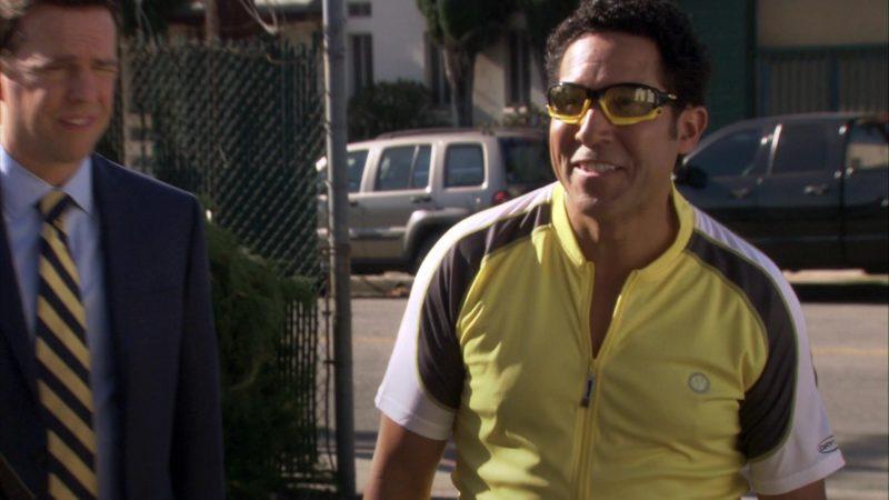 "Oakley Cycling Eyewear Worn by Oscar Nunez (Oscar Martinez) in The Office – Season 7, Episode 5, ""The Sting"" (2010) TV Show Product Placement"